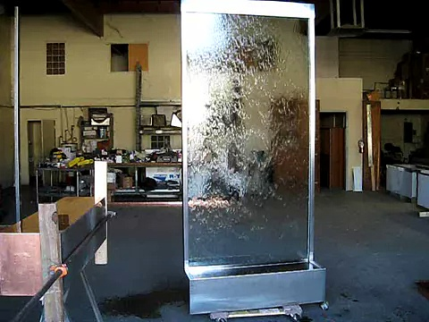 Buds SS & Glass Waterwall