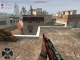 Call of Duty 2(cod2) trickjump Sprung aufs Marktplatzhaus in Toujane