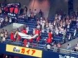 パ・リーグクライマックスファーストステージ日本ハム1-9応援歌@京セラドーム