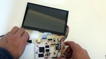LVDS LCD Touch Screen for pcDuino3C
