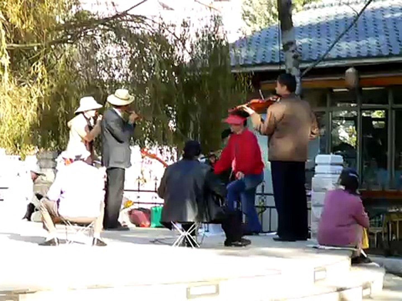 Musicians at Green Lake Park