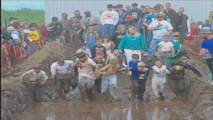 The Mud Run from Hurley, Wisconsin - It's a Kids game