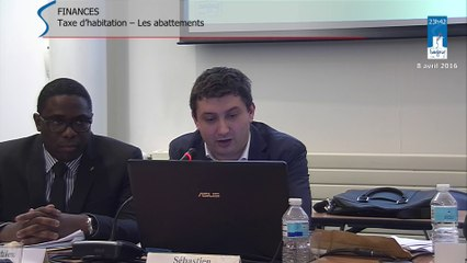 Conseil Municipal de Savigny-sur-Orge 8 avril 2016 - partie 5 - les abattements fiscaux