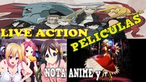 Fullmetal Alchemist Live Action Movie, FATE Stay Night Peliculas Y Digimon TRI OVA 3