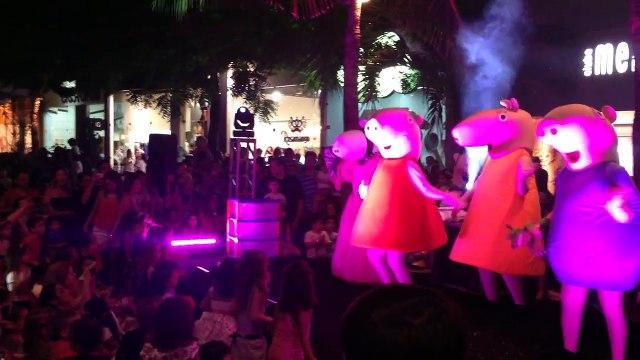 Turma da Peppa Pig no Jardins Open Mall