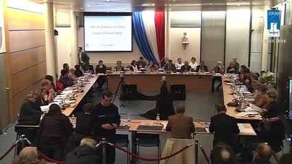 Conseil municipal de Savigny-sur-Orge du 8 avril 2016. - Partie 2 A -vote du budget