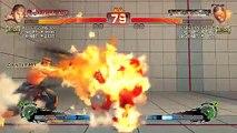 Ultra Street Fighter IV battle: Ryu vs Dee Jay