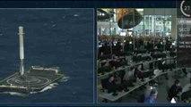 Space X logra con éxito enviar material a la EEI y hacer regresar su cohete