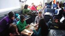 Students on Ice Antarctic 2014: Sailing to Antarctica