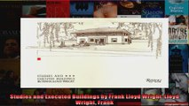Read  Studies and Executed Buildings by Frank Lloyd Wright Lloyd Wright Frank  Full EBook
