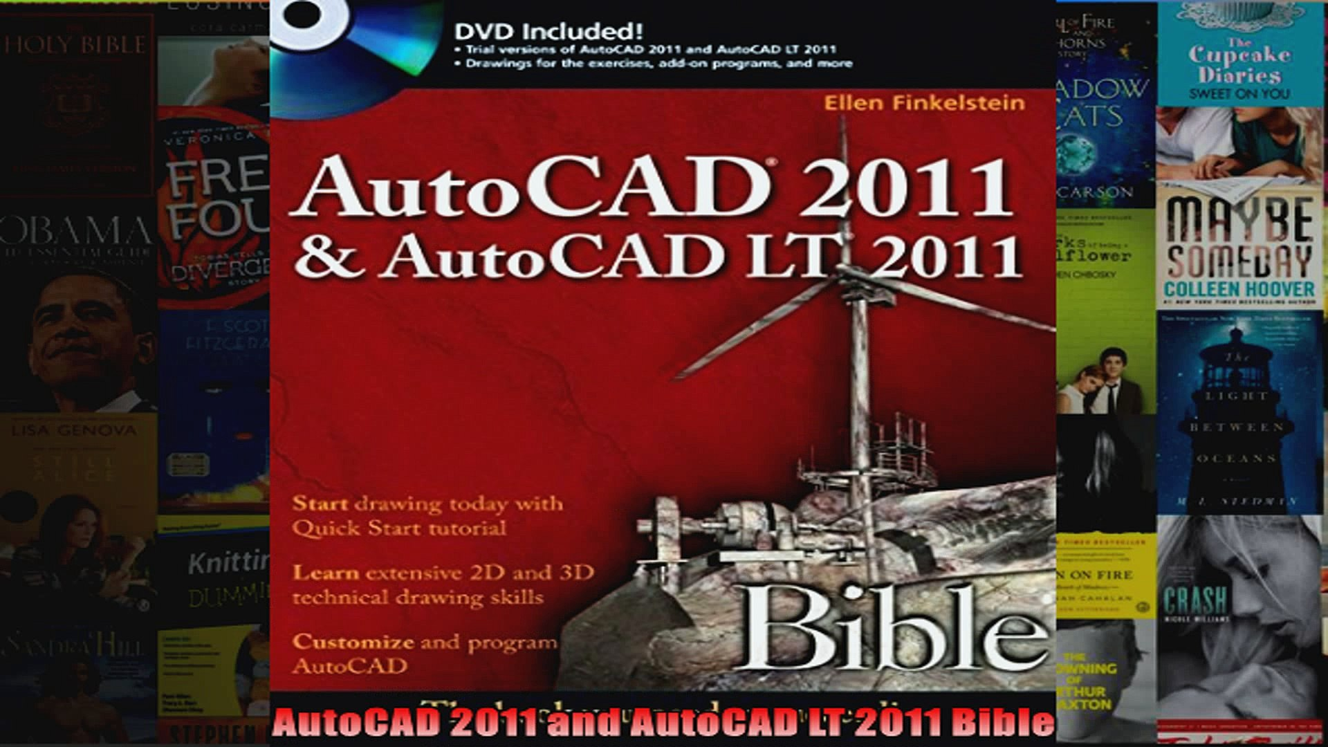 Read  AutoCAD 2011 and AutoCAD LT 2011 Bible  Full EBook