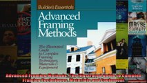 Read  Advanced Framing Methods The Illustrated Guide to Complex Framing Techniques Materials  Full EBook