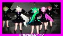 Rheinbeat - Sexy Cartoon Girls Dance - Trance Party - 2015