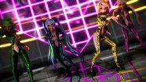 Rheinbeat - Sexy Cartoon Girls Dance - Check This Up - Rheinbeat Mix - 2015