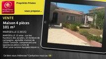 A vendre - maison - MARSEILLE (13015) - 4 pièces - 101m²