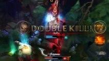 2.5 Attack SPEED Darius Montage (LoL Gags)