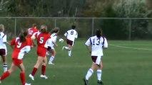 Jackie DeLucia #4 Bethel Connecticut High School vs NFHS 1st Goal
