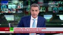 Gunmen take 170 hostages at luxury Radisson hotel in Bamako, Mali