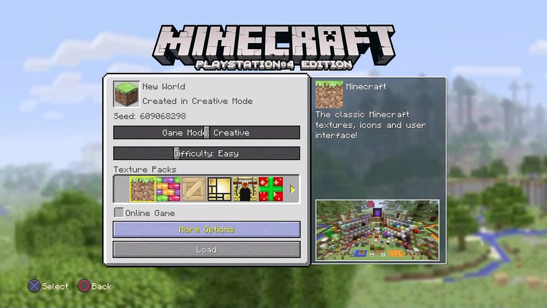 Minecraft Ps9 Seed - Stronghold In Village