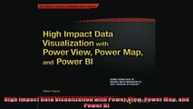 READ book  High Impact Data Visualization with Power View Power Map and Power BI READ ONLINE