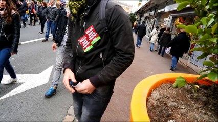 Manifestation contre la Loi Travail à Boulogne-sur-Mer le samedi 9 avril 2016
