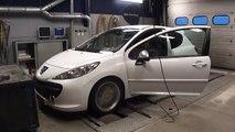 Peugeot 207 Dyno Run / Chip Tuning - at Beek Auto Racing