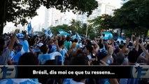 Lhymne chambreur des supporters argentins au Brésil !