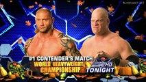 Kane vs Batista, WWE Smackdown 27.11.2009