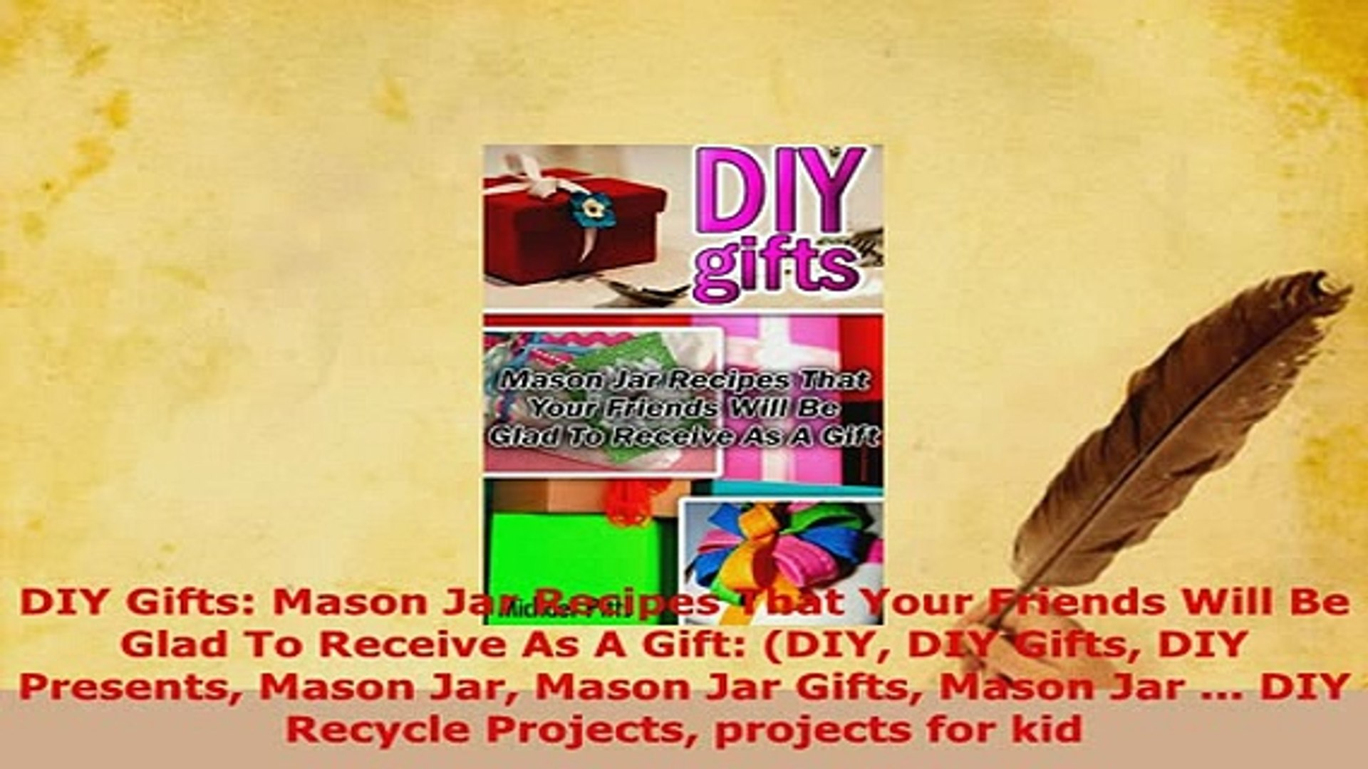 Download  DIY Gifts Mason Jar Recipes That Your Friends Will Be Glad To Receive As A Gift DIY DIY Re