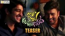 JO Achyutananda Teaser || Happy Ugadi || Nara Rohit, Naga Shourya - Filmyfocus.com