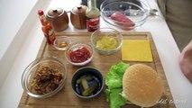 Ev Yapımı Hamburger Tarifi - İdil Tatari - Yemek Tarifleri - Homemade Juicy Burger