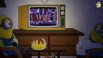 Minions Banana Stairs Funny Cartoon ~ Minions Mini Movies 2016 [HD]