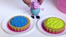 Peppa Pig Picnic Basket Play Doh Peppa Pig Toys Cesta de Picnic Playdough Picnic Part 3