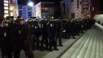 OM : supporters et gendarmes face à face sur le parvis de Vélodrome