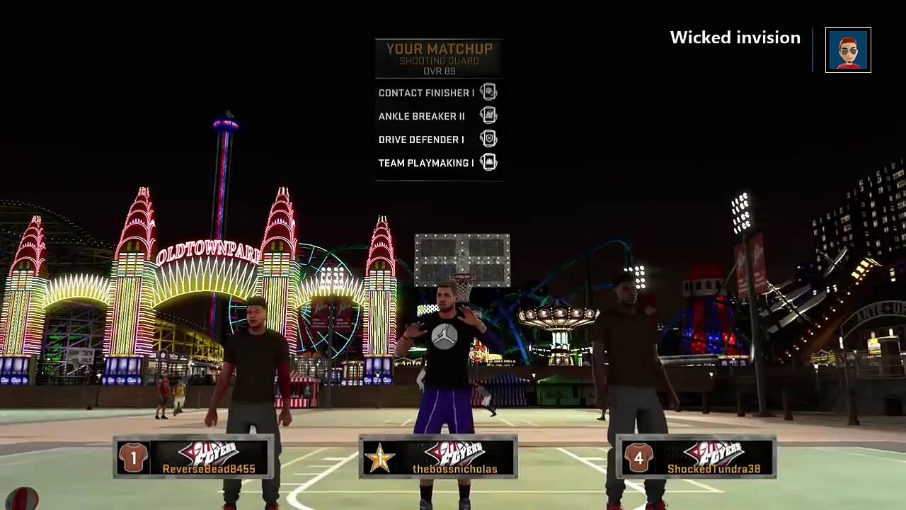 NBA 2K16 MyPARK Highlights