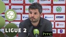 Conférence de presse Valenciennes FC - Evian TG FC (1-0) : Faruk HADZIBEGIC (VAFC) - Romain REVELLI (EVIAN) - 2015/2016