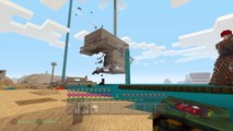 Minecraft PS4 blowing up house and nuke bomb fail