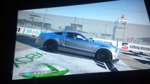 2015 Zo6 corvette vs 2013 Shelby GT-500 donuts,burnouts and awesome sound (Xbox one)
