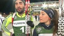 Biathlon - Champions Race - Relais mixte : Fourcade et Wierer deuxièmes