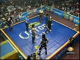 AAA-SinLimite 2009-03-22 Monterrey 06 Charly Manson, El Mesias & Vampiro Canadiense vs. La Legion Extranjera