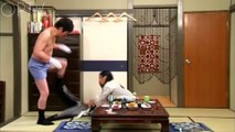 Funny Japanese Show - The paralysed husband   OPTV