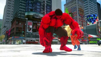 GOKU VS RED HULK
