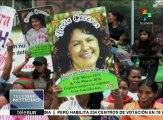 Honduras: exigen justicia por asesinato de Berta Cáceres
