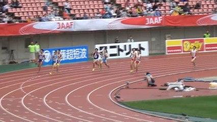 2015日本選手権 男子400m予選~決勝