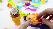 Playmobil Summer Fun Ice Cream Parlor Playset + Peppa Pig Ice Creams Play Doh Ice Creams Part 7
