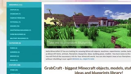 Want to find free minecraft building ideas blueprints?