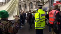 Downing Street protesters call for Cameron to resign
