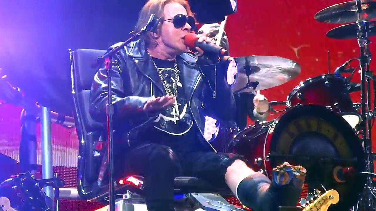 Estranged, Guns N' Roses, Las Vegas 4/8/16