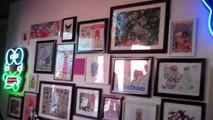 Hello Kitty Cute Art, Happy Art, Character Art, Art Basel aleloop dot com