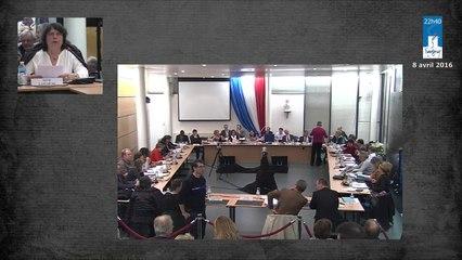 Conseil municipal de Savigny-sur-Orge du 8 avril 2016. - Partie 2 D -vote du budget